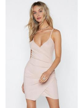 Sorry To Ruche You Wrap Dress by Nasty Gal