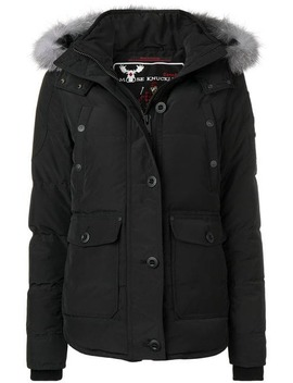 Fur Lined Zipped Jacket by Moose Knuckles