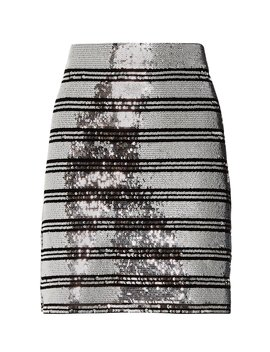 Sequin Stripe Mini Skirt by Derek Lam 10 Crosby