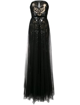 Sequined Tulle Gown by Marchesa Notte