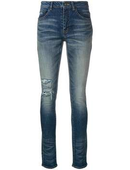Classic Skinny Fit Jeans by Saint Laurent