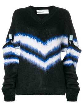 Detachable Sleeve Sweater by Off White