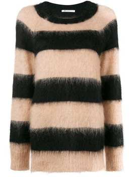 Striped Oversized Jumper by T By Alexander Wang