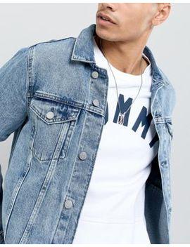 Tommy Hilfiger – Halskette In Silber Mit Logo Scheibe by Asos