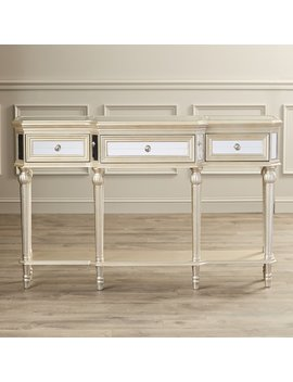 Willa Arlo Interiors Poston 3 Drawer Console Table & Reviews by Willa Arlo Interiors