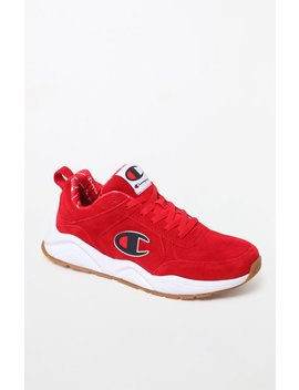 Champion 93 Eighteen Suede Shoes by Pacsun