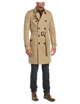 Burberry The Chelsea Long Trench Coat by Burberry
