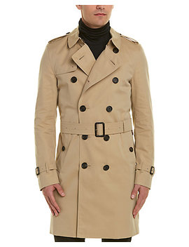 Burberry Kensington Long Trench Coat by Burberry