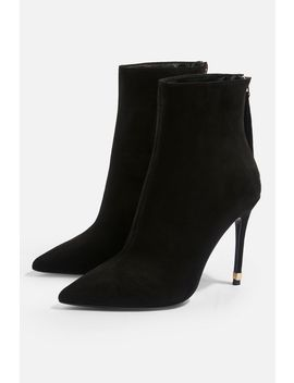 **Wide Fit Ella Pointed Boots by Topshop