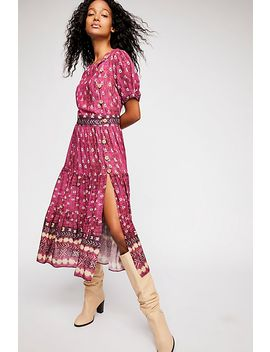 Honey Buttondown Midi Dress by Free People