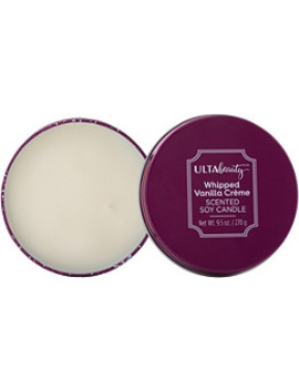 Whipped Vanilla Crème Scented Soy Candle by Ulta