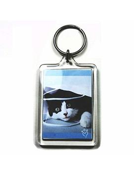 5 Large Blank Photo Keyrings 50 X 35 Mm Insert 92033 by Pc3721
