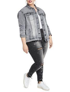 Plus Oversized Denim Jacket by Rachel Rachel Roy