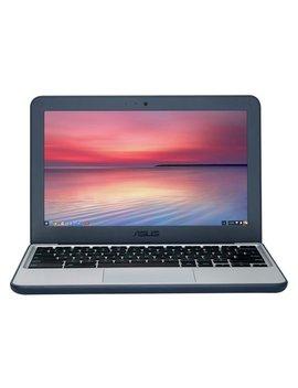 Asus C202 11.6 Inch Celeron 2 Gb 16 Gb Chromebook   Blue/White by Argos