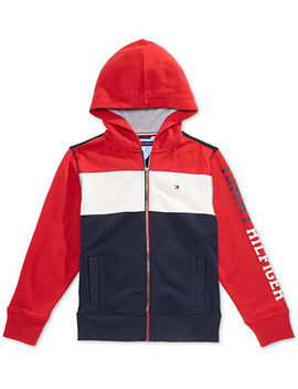 Toddler Boys Colorblocked Hoodie by Tommy Hilfiger