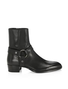 Wyatt 49 Harness Boots by Saint Laurent Paris