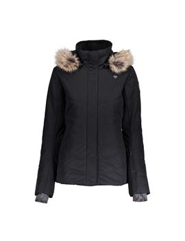 Tuscany Ii W/Faux Fur Womens Insulated Ski Jacket by Obermeyer