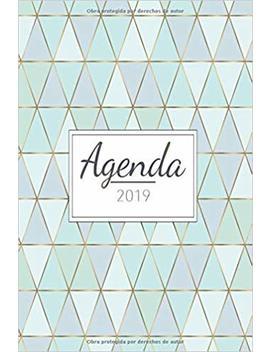 Agenda 2019: Organiza Tu Día   Agenda Semanal 12 Meses   1 De Enero A 31 De Diciembre 2019 by Amazon