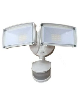 Deck Impressions Dual Head Led Outdoor Security Flood Light With Motion Sensor & Reviews by Deck Impressions