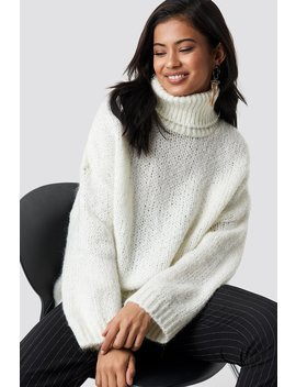 High Neck Knitted Sweater by Trendyol