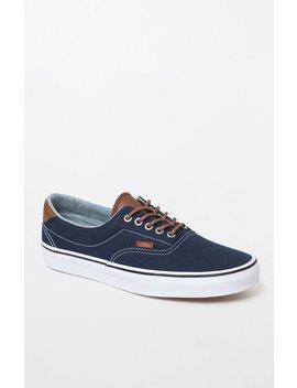 Vans C&L Era Blue Shoes by Pacsun