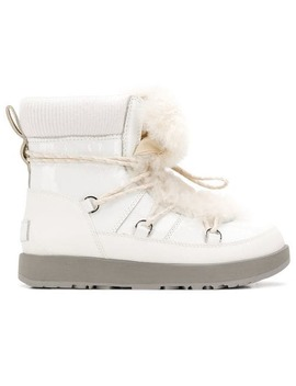Fur Lace Up Boots by Ugg Australia