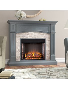 Alcott Hill Dawn Electric Fireplace & Reviews by Alcott Hill