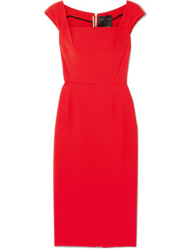 Maltock Stretch Crepe Dress by Roland Mouret