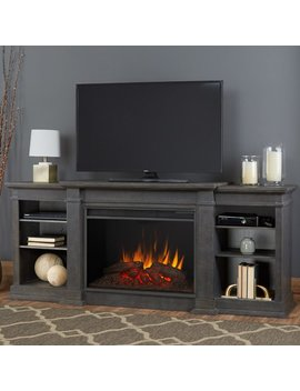 "Real Flame Eliot Grand Entertainment Center For T Vs Up To 78"" With Electric Fireplace & Reviews by Real Flame"