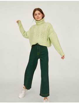 Coloured Culotte Jeans by Stradivarius