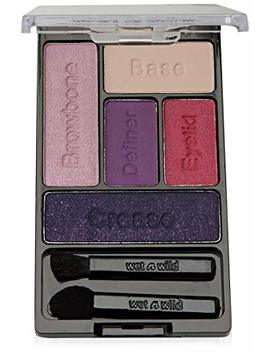 Wnw Eyeshdw C393a Palte F Size .21 O Wet & Wild Color Icon Eye Shadow Palette C393a Floral Values... by Wet N Wild