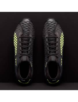 Puma Future 18.3 Hy Fg   Puma Zwart/Fizzy Geel/Asphalt by Pro Direct Soccer
