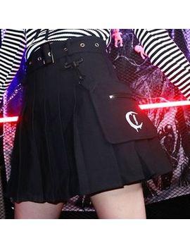 Miu B   Pleated Mini Skirt by Miu B