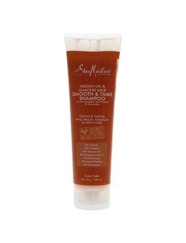 Shea Moisture Argan Oil And Almond Milk Smooth And Tame Shampoo   10.3 Oz Shampoo by Shea Moisture