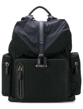 Woven Detail Backpack by Ermenegildo Zegna