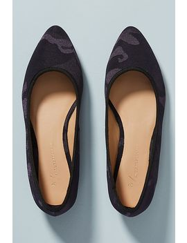 Anthropologie Camo Flats by Anthropologie
