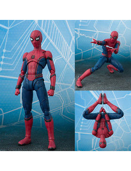 Shf S.H.Figuarts Marvel Spider Man Homecoming Spiderman Hero Action Figure Toy by Unbranded