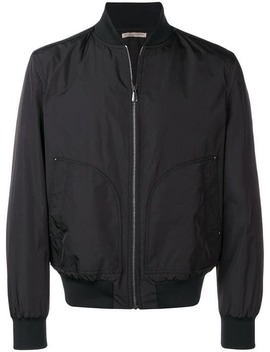 Classic Bomber Jacket by Bottega Veneta