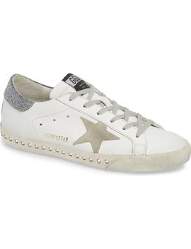 Superstar Crystal Embellished Sneaker by Golden Goose