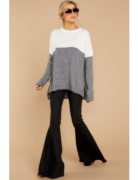 Best Remedy Grey Multi Sweater by Staccato