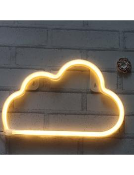 Cloud Neon Light Signs Free Wall Hooks. Extra Long. Led Decor For Home,Kid Bedroom, Wall Decoration Dorm Decor Night Light Party Supplies by Best Circle