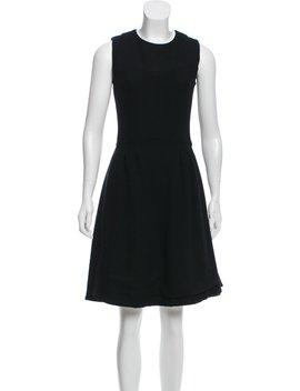 Wool Knee Length Dress by Chanel