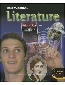 Holt Mc Dougal Literature: Student Edition Grade 12 British Literature 2012 by Amazon