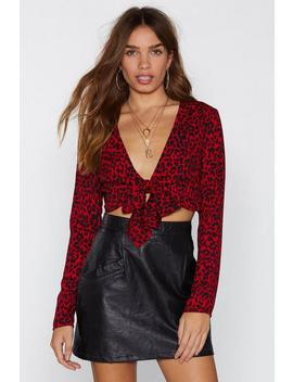 Cha Cha Leopard Top by Nasty Gal