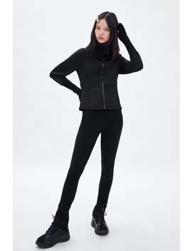 Limited Edition Mixed Jacket  View All Pants Woman by Zara