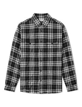 Saint Laurent 2 Pocket Check Shirt by End.