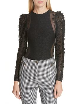 Sequin Jersey Bodysuit by Opening Ceremony