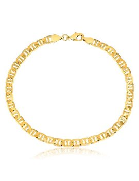 18 K Gold Plated Gold Gucci Link Anklet by Sevil