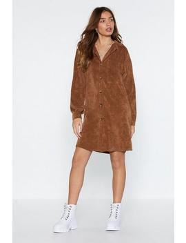 What Shirts The Most Corduroy Shirt Dress by Nasty Gal