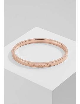 Clemina Hinge Bangle   Necklace   Rose Gold by Ted Baker